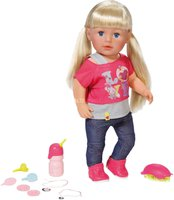 Babypuppen & Zubehör Puppen & Zubehör Humor Zapf Creation Baby Born Stadt Luxus Roller Outfit Puppe Kleidung Set