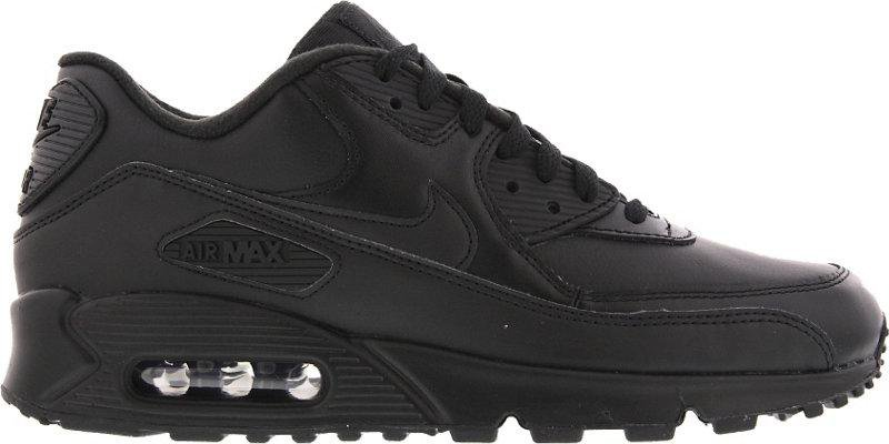 big sale e8409 3b5aa Nike Air Max 90 Leather all black günstig kaufen
