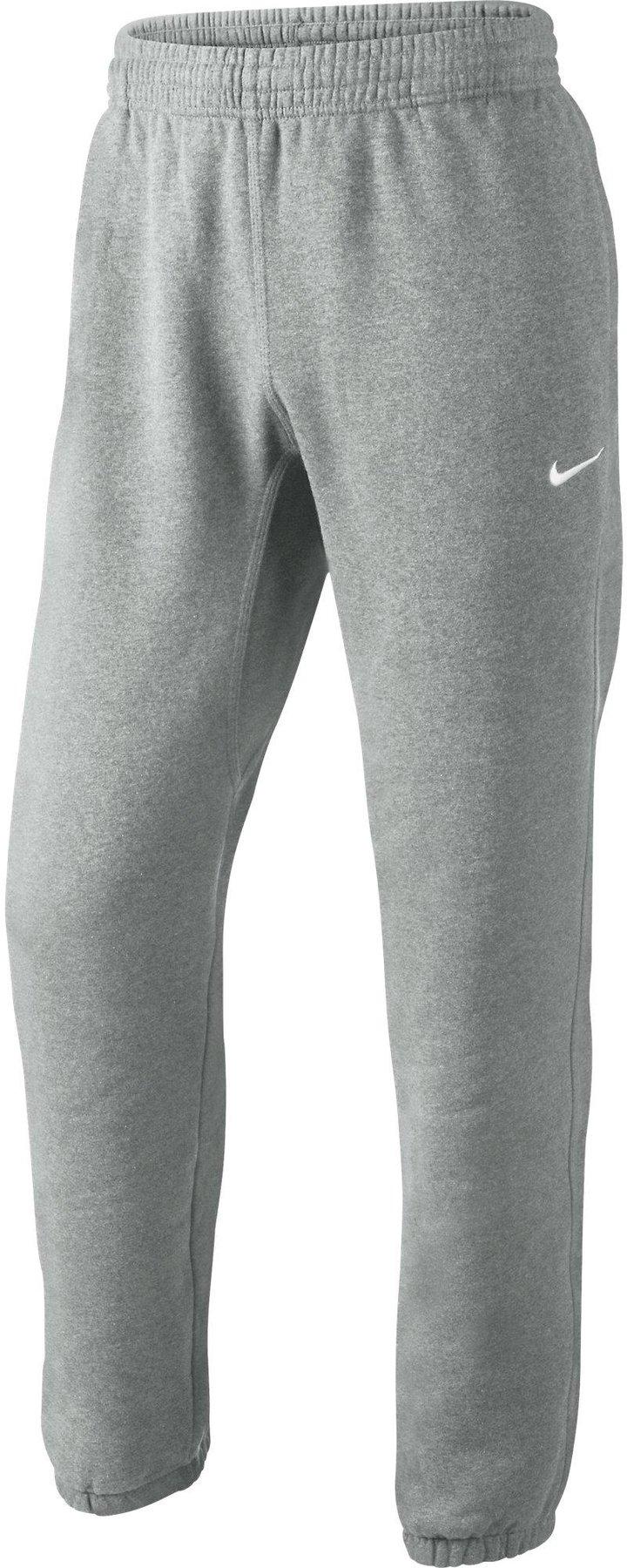 42f3f83ef06ff3 Nike Herren Trainingshose Club Cuff Pant Swoosh dark grey heather white  günstig