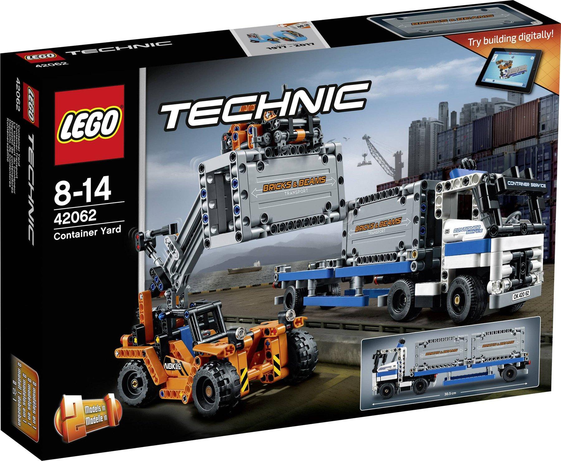 Lego Technic Container Transport 42062 Günstig Kaufen